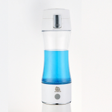 SYNTEAM 350ml Hydrogen Water Bottle Rich Hydrogen Water Generator Hydrogen Water alkaline Maker Water Cup H2 Ionizer Anti-Aging portable ionizer hydrogen rich water maker
