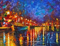 Wholesale Wall Decor Craft About Ship Frameless Pictures Oil Painting On Canvas For Home Decor Picture