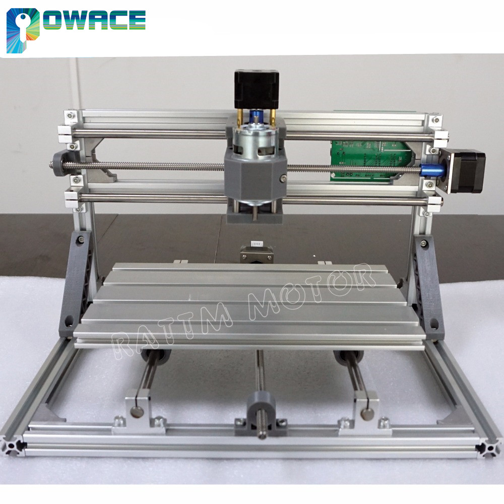 Ukraine Promotion 3018 3 Axis CNC Wood Router Engraving Milling DIY Laser Machine GRBL Control