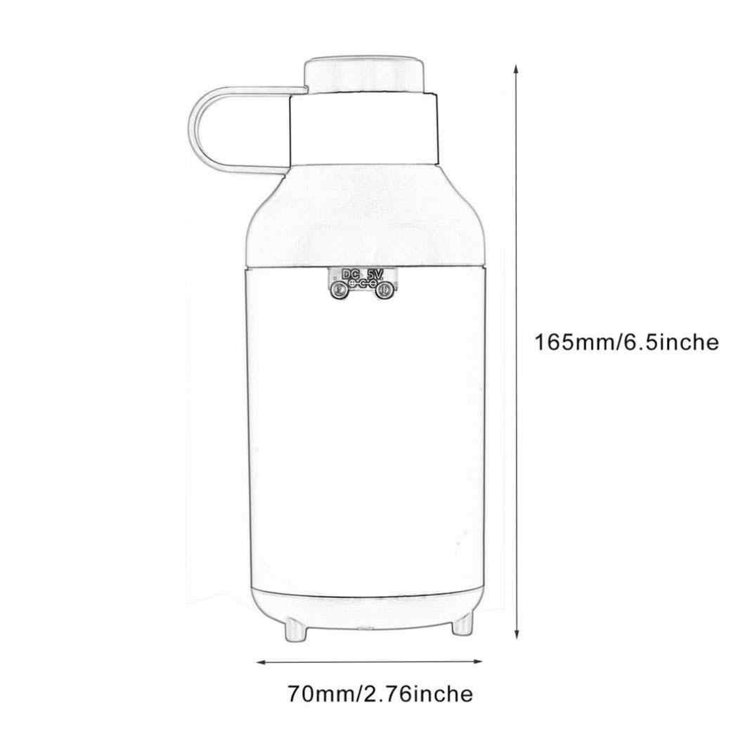 50 мл ультразвуковой увлажнитель воздуха Арома эфирные масла диффузор USB увлажнитель немой ороситель увлажнитель чайник креативная форма бутылки черный