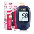 Новый сахара в Крови монитор с 50 шт. полоски 50 шт. Иглы Ланцеты Электронный Счетчик Глюкозы В Крови сахара в крови обнаружения