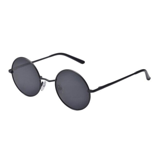 907d4a686b Women Driving Metal Eyewear Men Small Vintage Retro John Lennon Glasses New  Brand Designer Classic Polarized