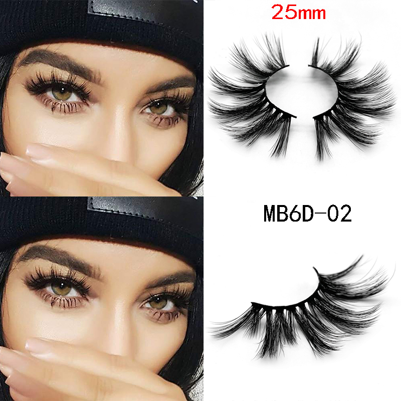 3d629d3c9de Cheap False Eyelashes, Buy Directly from China Suppliers:MB 3D Mink 25mm  lashes 100