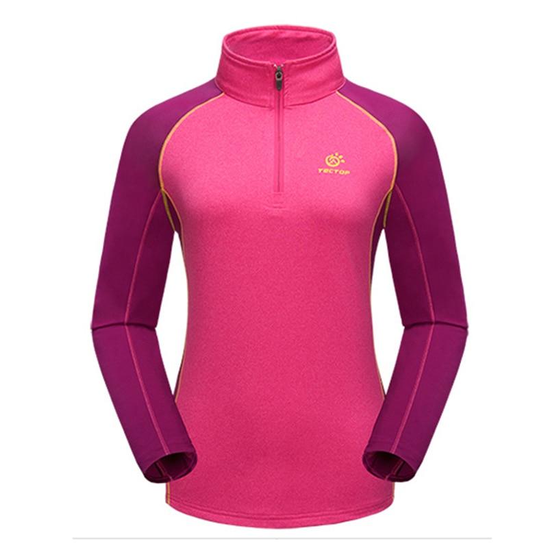Hot Spring Leisure Sport Camping Cycling Climbing Outdoor T Shirt Women Hiking T-shirt Fishing Quick Dry Ciclismo Camiseta Mujer
