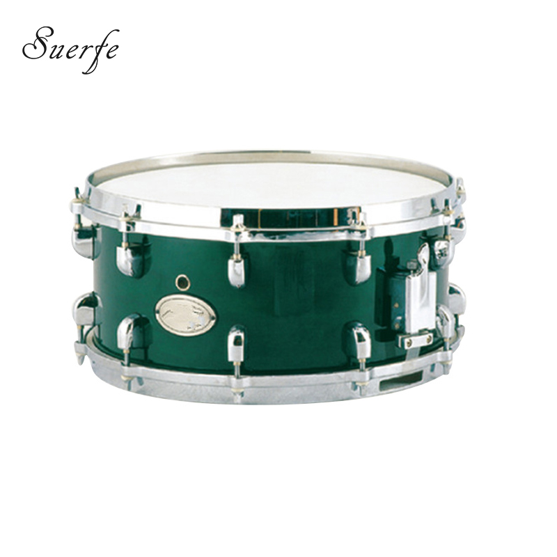 suerte high quality snare drums 14 6 5 size polyester drumhead birch shell percussion. Black Bedroom Furniture Sets. Home Design Ideas