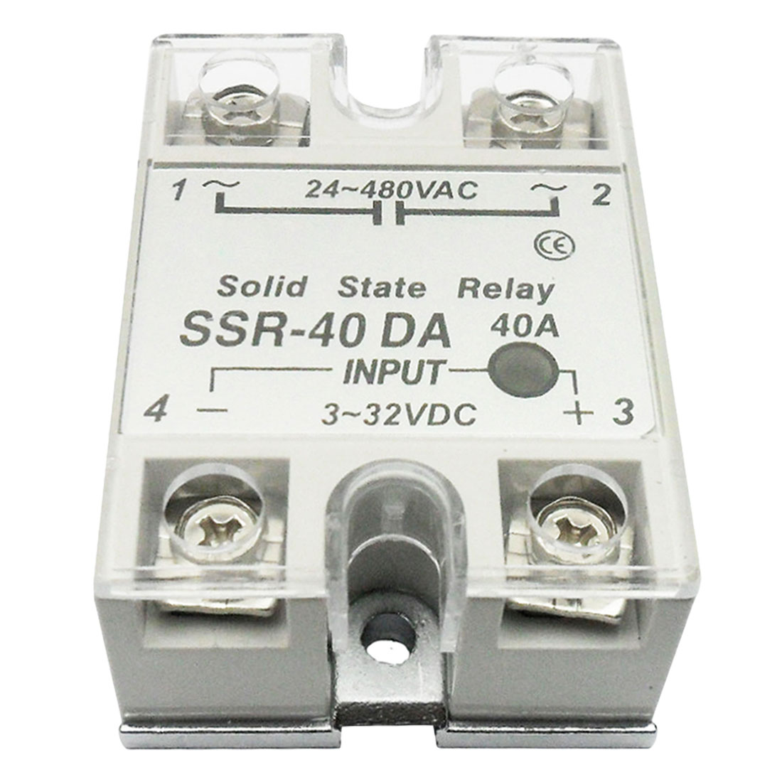 цена на 1pc solid state relay SSR 10DA 25DA 40DA actually 3-32V DC TO 24-480V AC 10A 25A 40A Relay