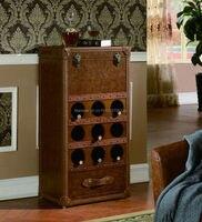 2018 Salon Tafel Furniture Console Sale Wood Moveis Antigos Para Sala American Country Stlye Wine Cabinet Antique New Model X22
