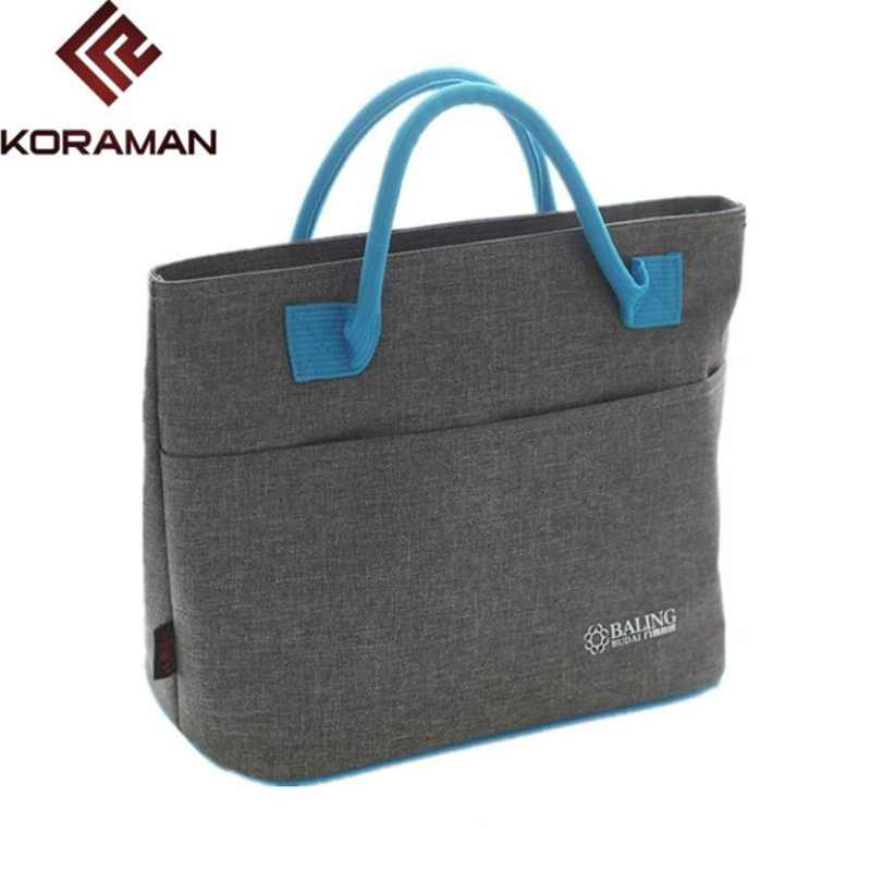 KORAMAN Brand Mummy Shoulders Insulated Lunch Bag Travel Walking Camping Insulation Fresh Beverages Food Storage Picnic Bags