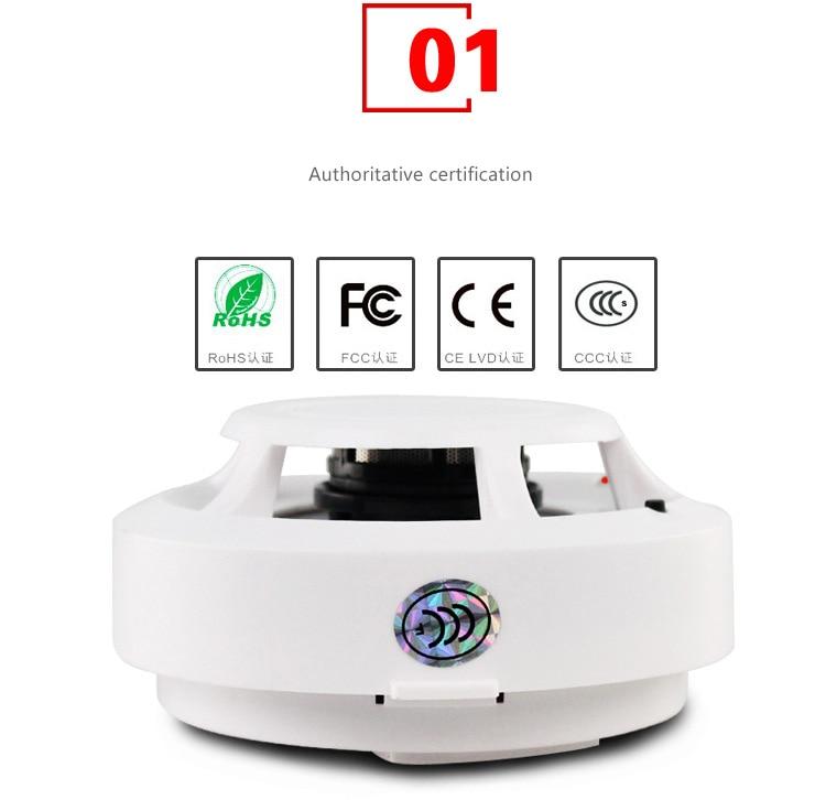 Independent Smoke Alarm Angis Fire Alarm Smoke Sensor 3C Certification Independent Smoke Detector