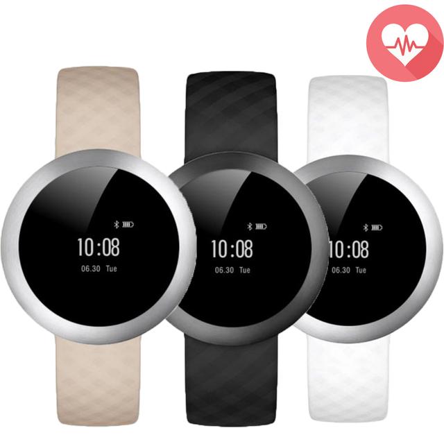 ZB51 Faixa De Pulso Inteligente Heart Rate Monitor de Esporte Moda Pulseira Pulseira do Relógio da Tela de Toque Inteligente Para iOS Android Phone