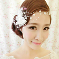 bridal wedding hair accessories butterfly headdress with Pearls for woman party or dinner B012