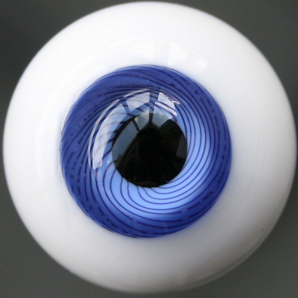 8mm LightSlateGray /& SeaGreen For BJD AOD DOD Doll Dollfie Glass Eyes Outfit