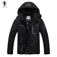 2015 New Large Size 9 Colors Winter Jackets Men Windproof Ourdoor Down Parkas Warm Hood Sport