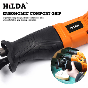 Image 4 - HILDA Electric Saw Reciprocating Saw for Wood Metal Plasitic Pipe Cutting Power Saw Tool with Saw Blades