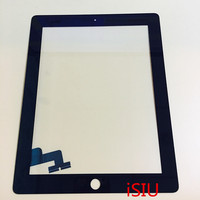 ISIU Replacement Touch Screen For IPad 2 Tab Touch Panel Glass Digitizer Phone Touch Repair Tablet