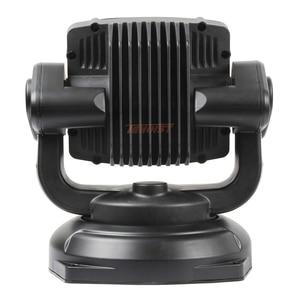 Image 5 - Le plus récent un pièces 80W 360 degrés Rotable LED recherche lumière de chasse avec Base magnétique pour Seaboat SUV voiture 12V 24V