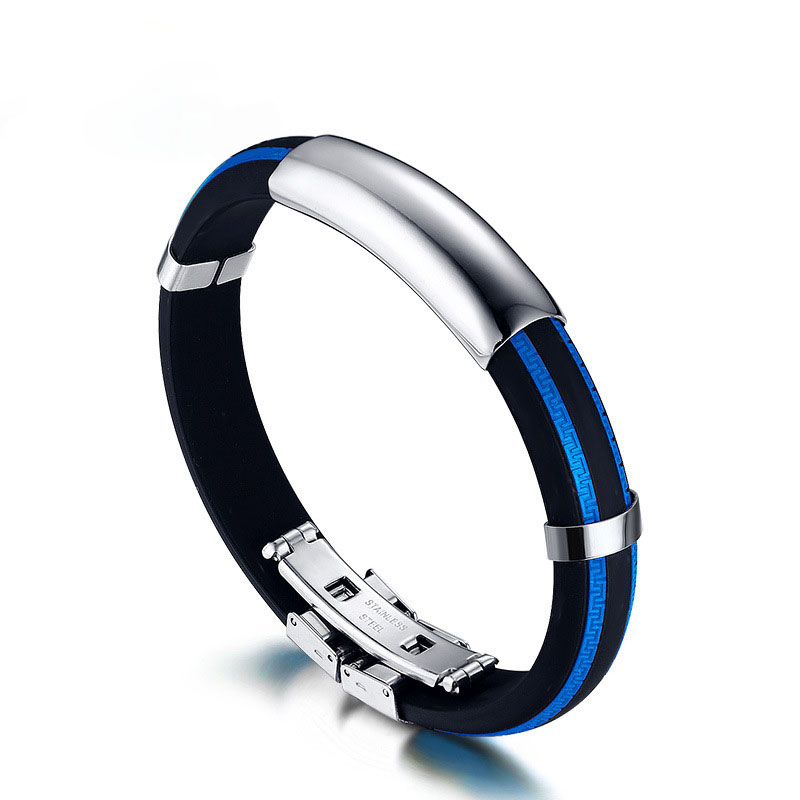 Woman Man Cool Pulseira Feminina Style Silver color Bangles Pulseiras Stainless Steel Screw totem Bracelet 5 Colour jewelry