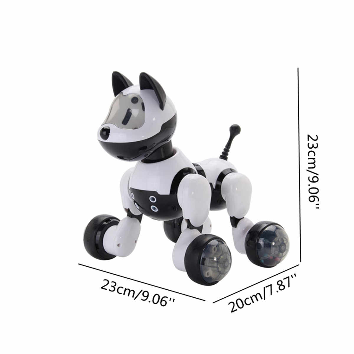 Inteligente eletrônico animal de estimação brinquedo robô cão crianças andando cantar dança filhote de cachorro ação programa crianças presente brinquedos animais robóticos