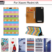 Capa For Xiaomi Redmi 4A 5 0 Cartoon Cute Luxury Card Wallet PU Flip Leather Fundas