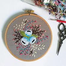 DIY ленточный Набор для вышивания цветов с рамкой для начинающих наборы для рукоделия серия для вышивания крестиком художественные изделия швейный Декор