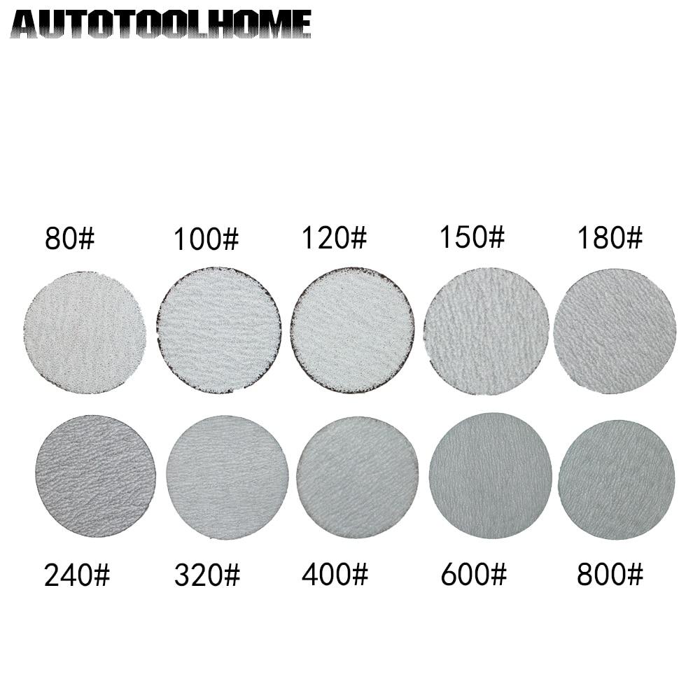 50Pc Sanding Sandpaper Flap Wheel Disc 80 Grit For Rotary Tool 1//8/'/' Shank New