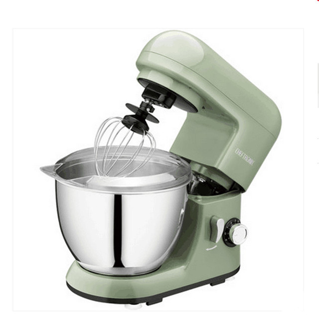 220v 4l electric dough mixer multifunctional automatic baking machine stand kitchen mixer cooking machine egg butter - Kitchen Mixers