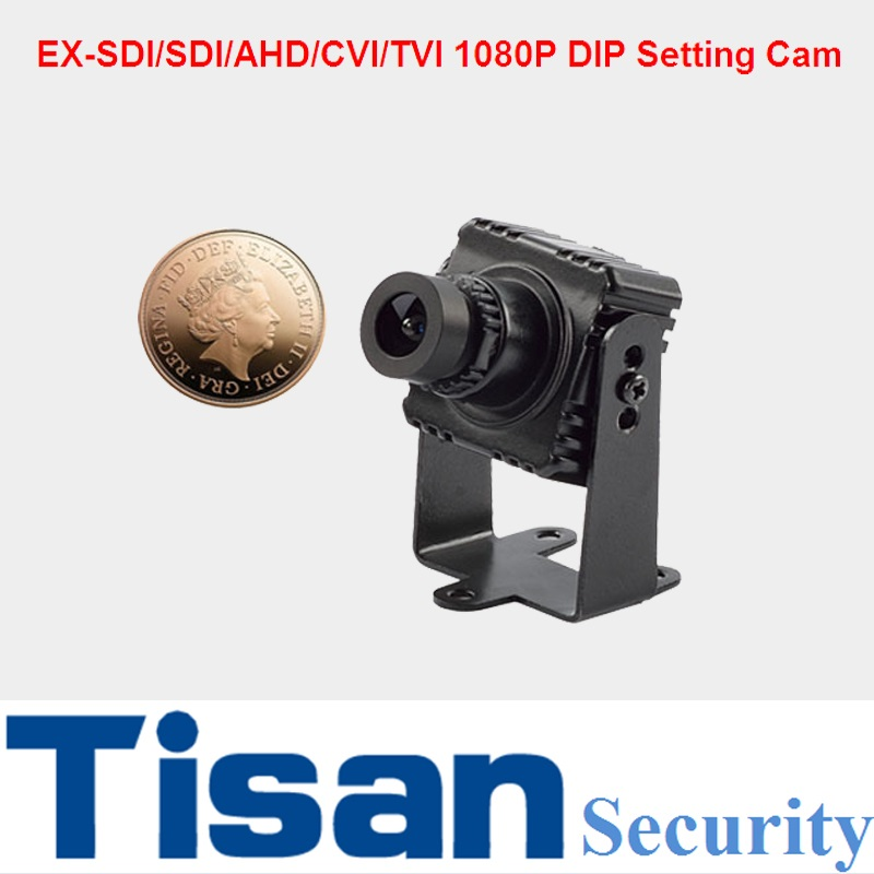 New mini camera EX-SDI SDI AHD CVI TVI Anlaog 6-In-1 Mini Camera 1080P CCTV Camera