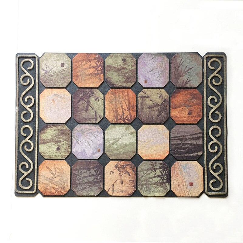 Luxus Europa Fußmatte Naturkautschuk Größe 90x60 CM Flur Salon - Haustextilien - Foto 3