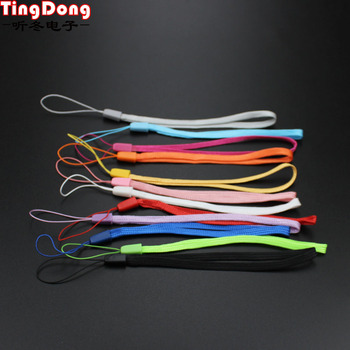 TingDong Fashion Nylon Wrist Hand Strap Lanyard for Mobile Cell Phone Camera USB MP4 PSP Straps Random Color image