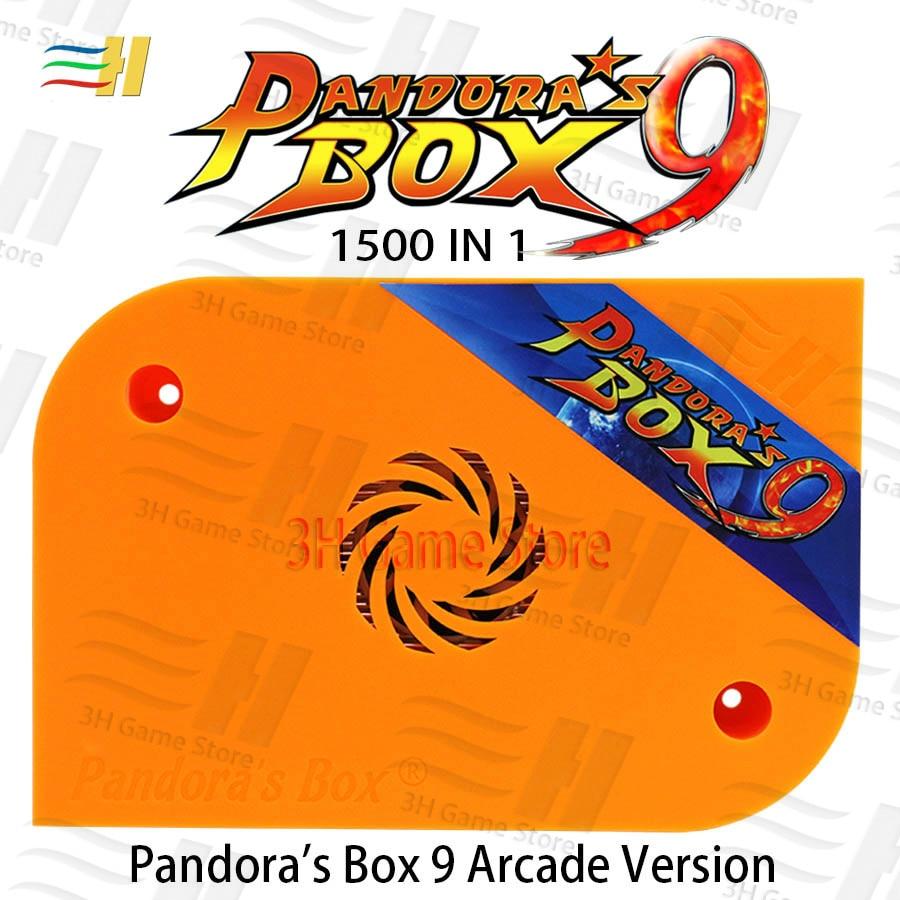 Original Pandora's Box 9 1500 in 1 Jamma Arcade Version Game Board HDMI VGA video output HD 720P arcade cabinet USB disk Storage