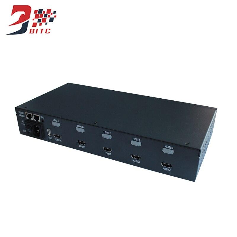 все цены на New Style Video Wall Controller 1080P TV Shows Screen Splicing Processor 2x2 IR Controller