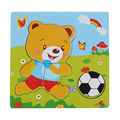 High Quality Wooden Puzzle Educational Developmental Baby Kids Training Toy Aug24