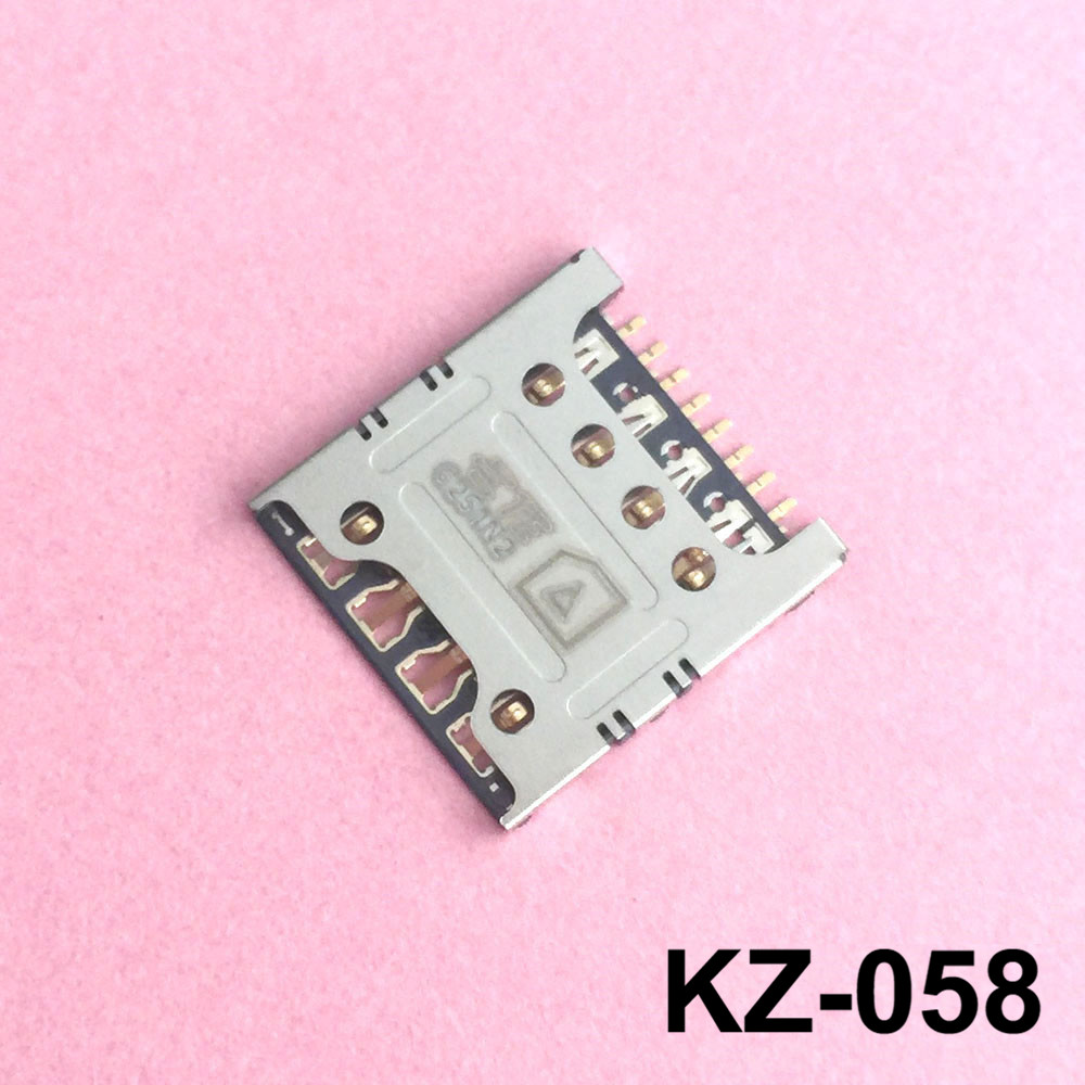 ZYSUS Cell Phone Accessories IM Card and SD Card Reader Flex Cable for LG Optimus G Pro F240