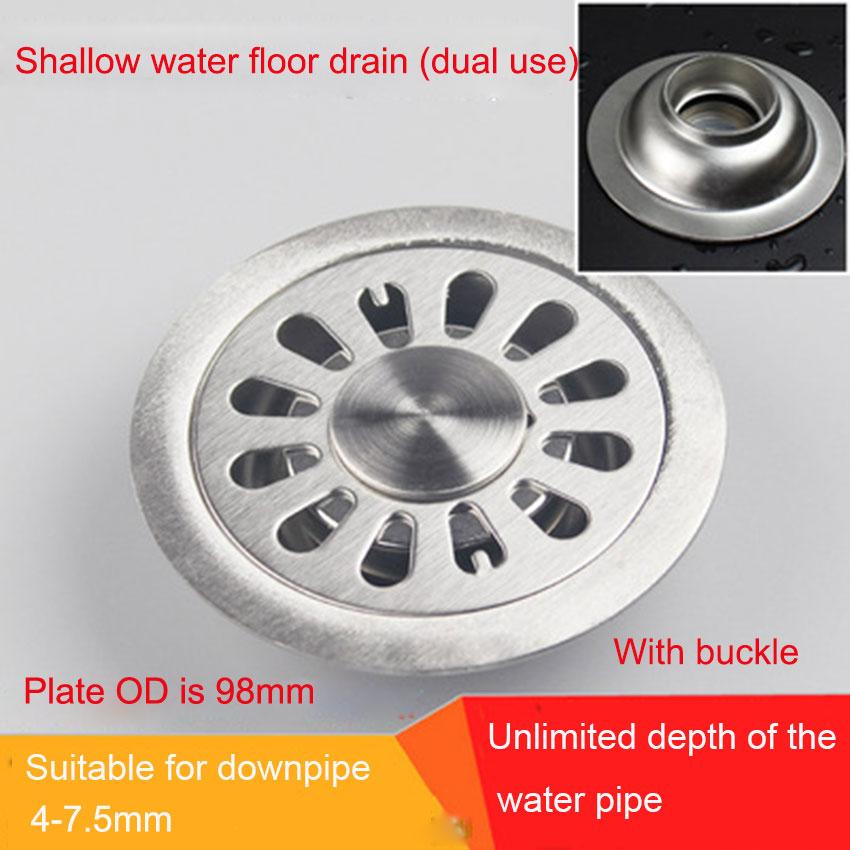 HOMELODY V/álvula Pop Up de Drenaje para lavabo Cobre Tapones V/álvula de Desag/üe para fregadero