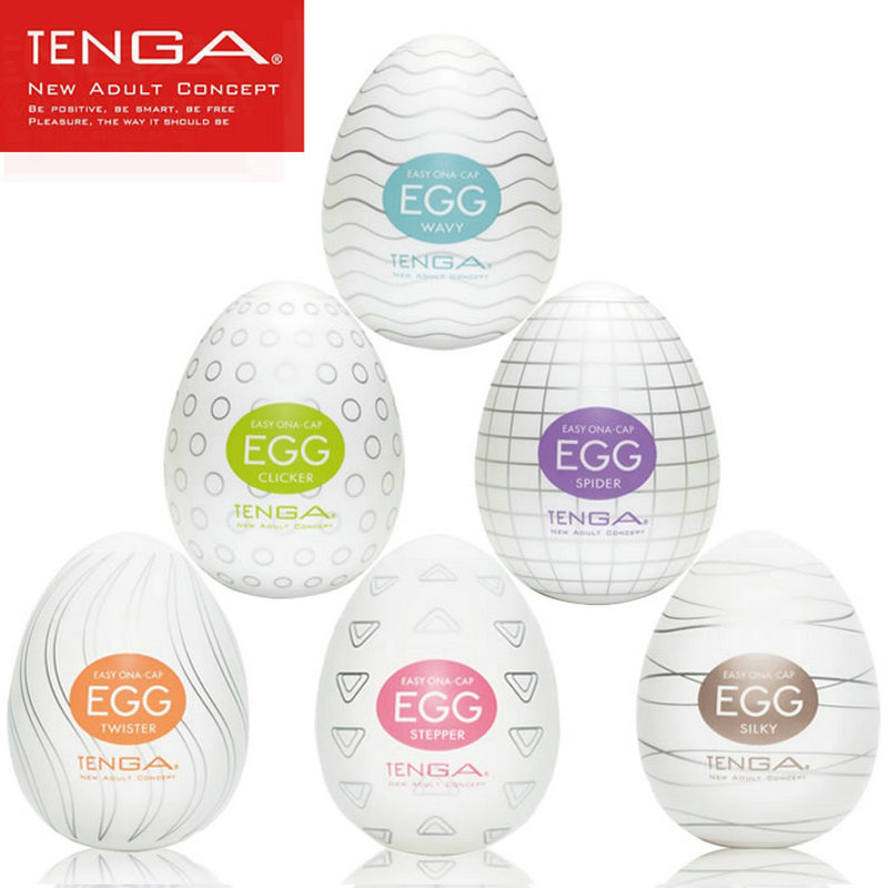 TENGA Egg Male Masturbator For Man Sex Pocket Realistic Vagina Japan Silicone Egg With Lubricant Sex Toys For Men