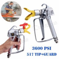 High Pressure Airless Paint Spray Gun Sprayer With Tip Tip Guard For Graco Titan Wagner Pump