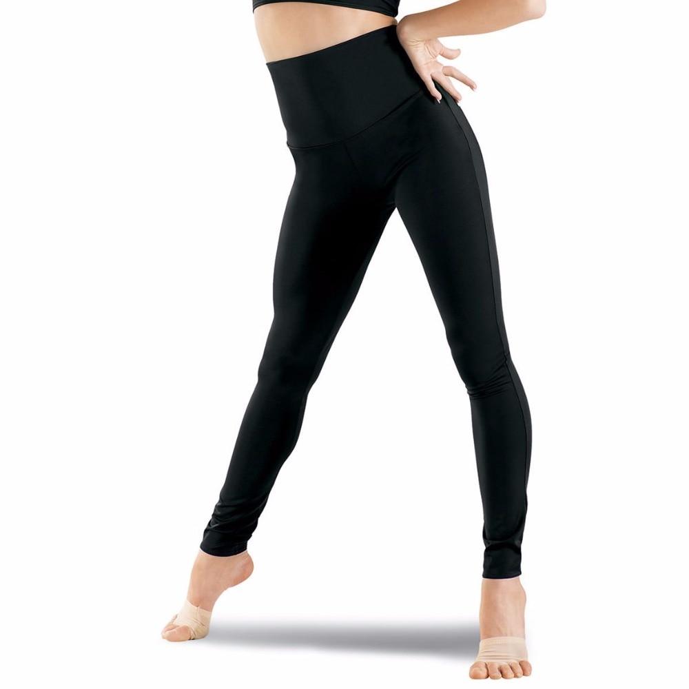 Femme /'Plain Élastique Extensible Taille Pleine Longueur Leggings Taille Plus