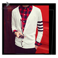 ZEESHANT Brand Clothing Jumper Men Wool Stripe Sweater Men Factory-direct-clothing Cardigan Masculino Knitted Sweater