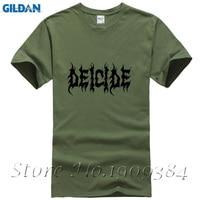 Heavy Metal Rock Band Music Deicide T Shirt Pattern Men Short Sleeve Summer Tops For Man