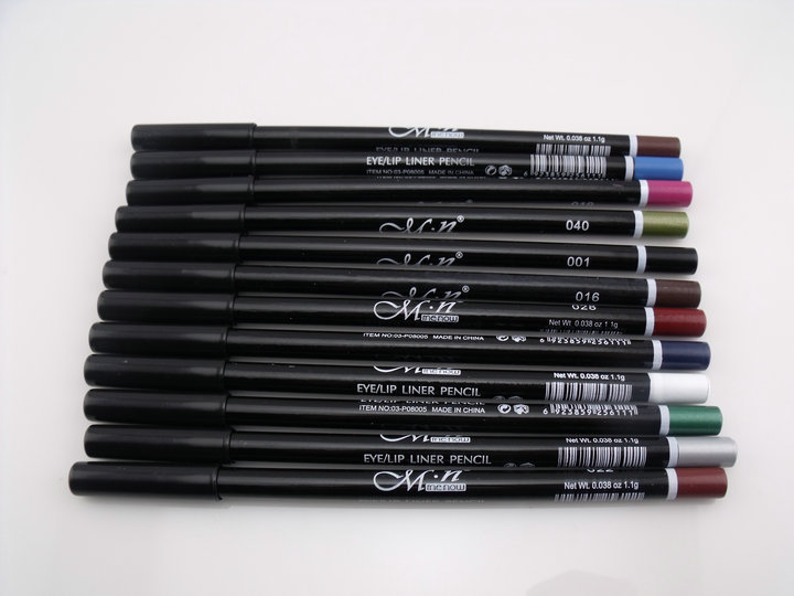 12 Colors Eye Make Up Eyeliner Pencil Waterproof Eyebrow Beauty Pen Eye Liner Lip sticks Cosmetics Eyes Makeup