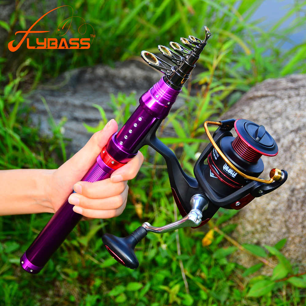 New 1.5M-3.6M High Carbon Telescopic Fishing Rod 7/9/10/11/13 Section Metal Handle Sea Fishing Rod Fishing Tackle With Line Set(China)