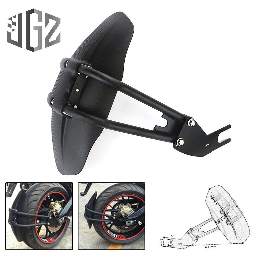 For YAMAHA MT09 Motorcycle Rear Mudguard Fender Bracket Wheel Tire Splash Pad Cover for KAWASAKI Z650 Z800 Z300 for HONDA CBR650