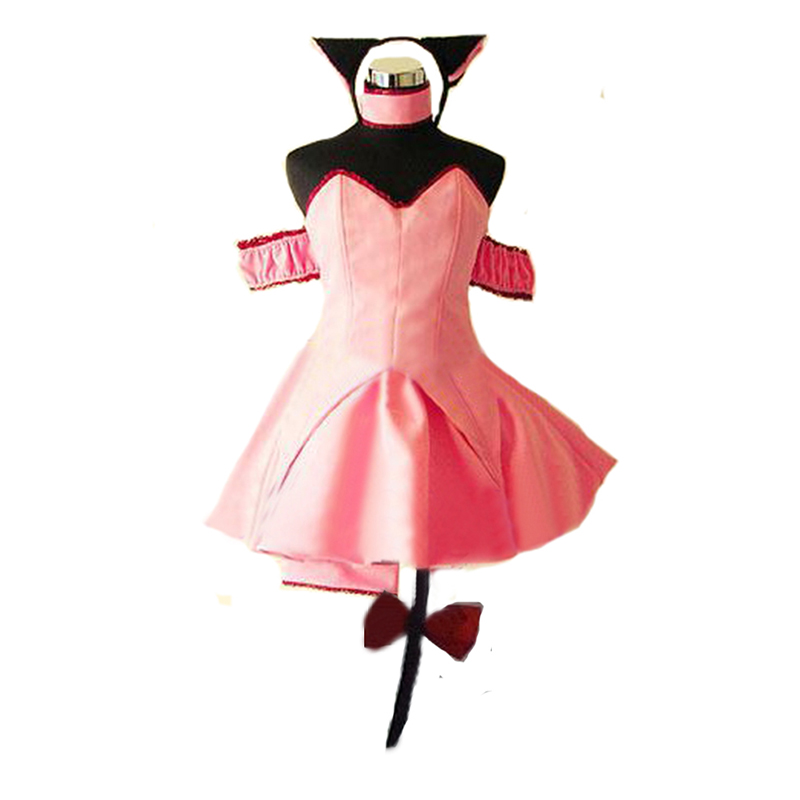 Eshop Ichigo (Transfiguration) Cosplay Costume from Tokyo Mew Mew Cosplay Anime Carnival Costume