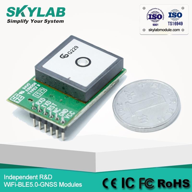 SKYLAB NMEA מקלט GPS מקלט SKM53 עם Embedded תיקון GPS אנטנה סוללה פנימית גיבוי