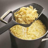 Nueva llegada negro Nylon Pasta colador utensilios de cocina