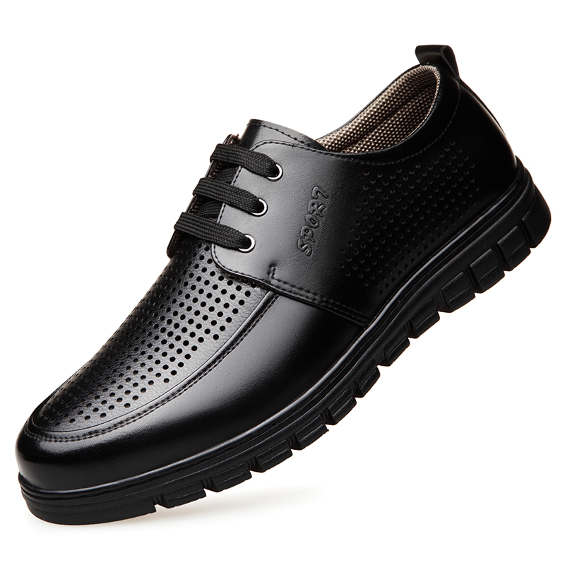 Dropshipping New Fashion Lovers Shoes Men Low Top Soft Comfortable Mens Casual Male Brand Black Footwear DB078