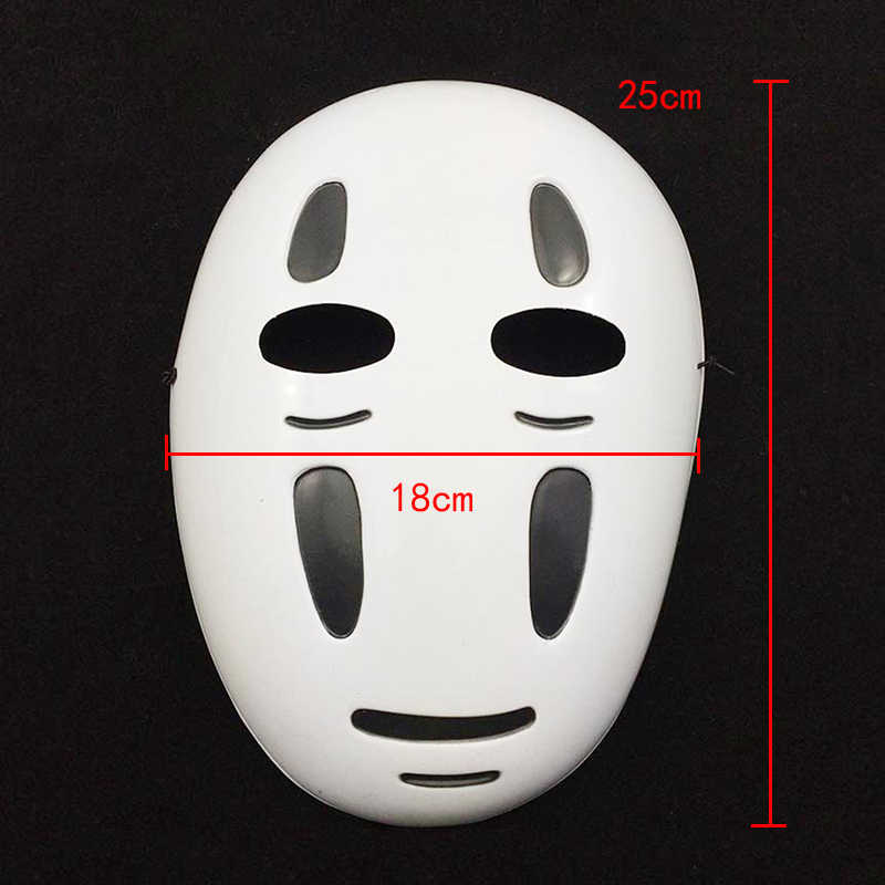 Kaonashi Style Spirited Away No Face Mask Faceless Cosplay Helmet Fancy Anime Halloween Party Costume Japanese Masks Toys Toys Toys Toys Toys Toystoy Mask Aliexpress