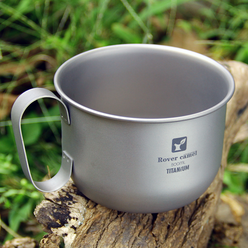 Rover Camel Anium Coffee Mug 500ml Milk Cup Cookware Pot Bowl With Fixed Handle Ta8351 In Outdoor Tablewares From Sports Entertainment On