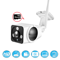 HD 1080P Wireless SD Card Slot Audio Camera 3 0MP Wifi Security Camera IR Night Vision