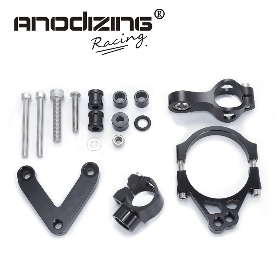 For DUCATI 848 2008-2010 2009 Motorcycles Adjustable Steering Stabilize Damper Bracket Mount Support Kit Accessories археографический ежегодник 2009 2010 гг